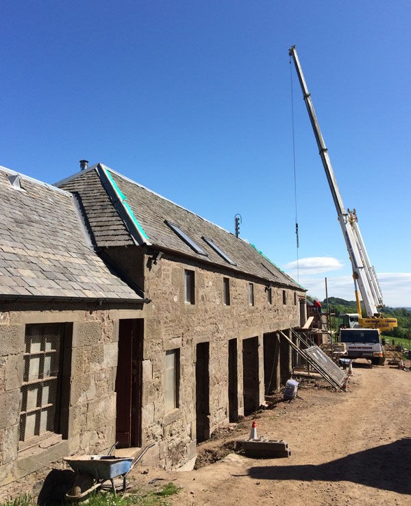 Building Workshop architect design steading conversion new build restoration listed buildings Angus Perthshire Scotland architecture architect