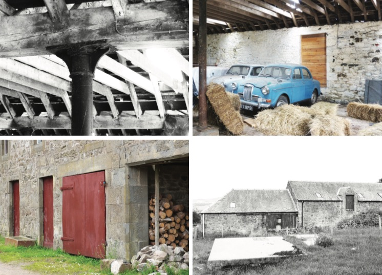 steading conversion barn Scotland rural architecture Perthshire Angus Architect rural venue wedding venue Ben Scrimgeour Building Workshop Scottish Architecture