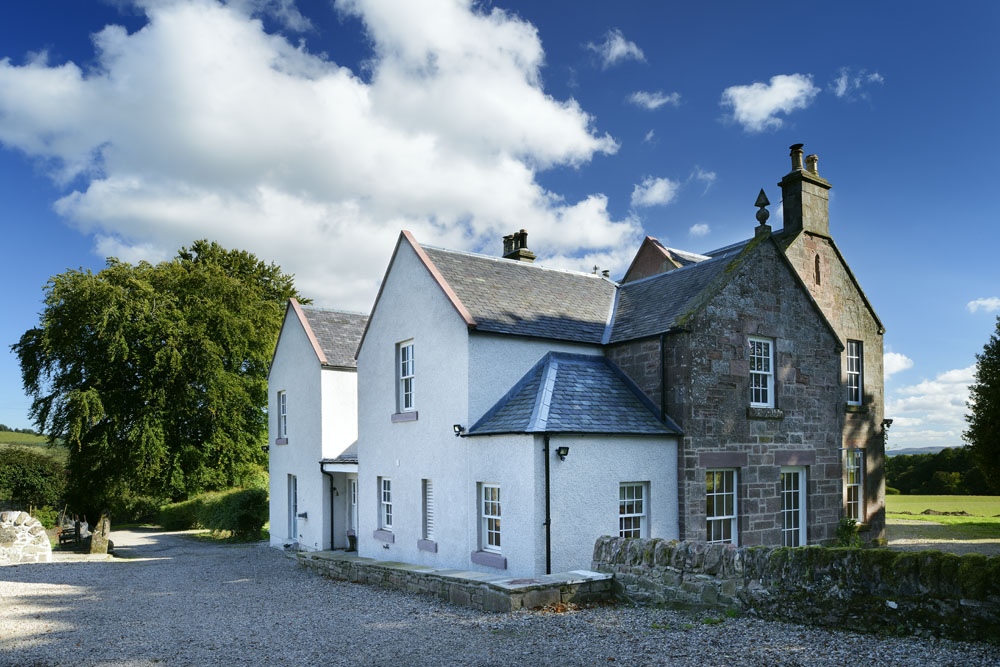 East Tullyfergus house restoration renovation extension