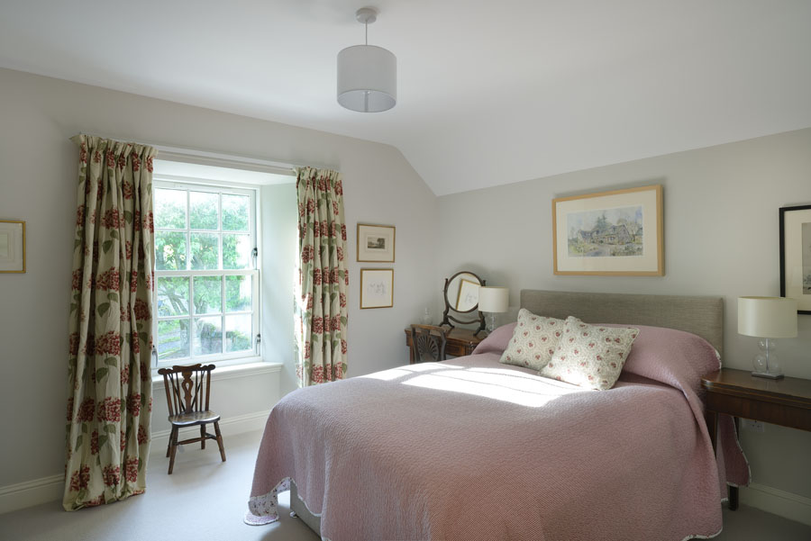 bedroom country living Perthshire