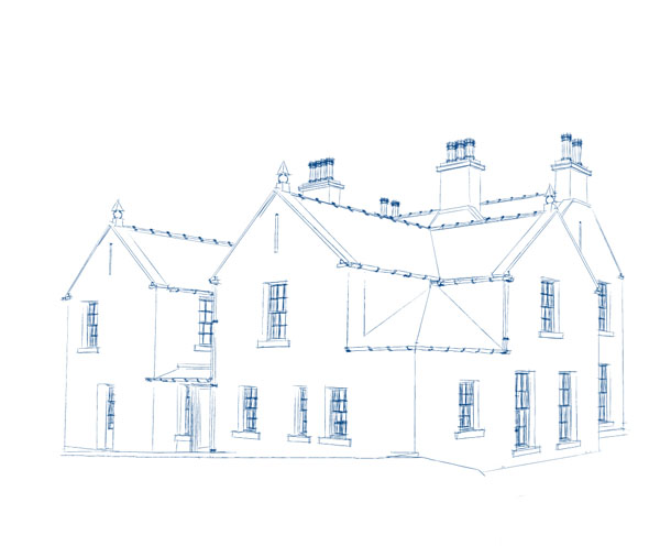 sketch render architect design east tullyfergus